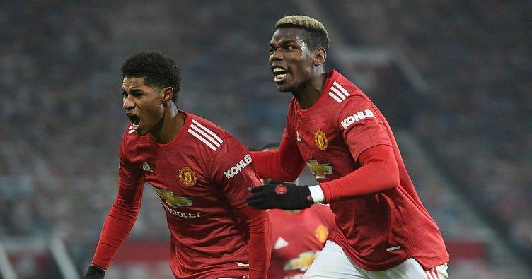 Premier Lig'de zirve kızıştı! Manchester United 90.dakikada gelen golle 3 puanı aldı!