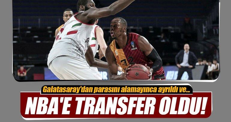 Galatasaray'dan ayrıldı, NBA'e transfer oldu