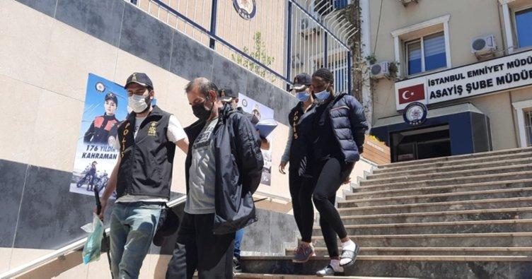 Son dakika haberler | İstanbul'da Ugandalı soygunu! Emri Monica verdi!