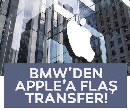 BMW'den Apple'a flaş transfer! Artık teknoloji devinin bünyesinde çalışacak