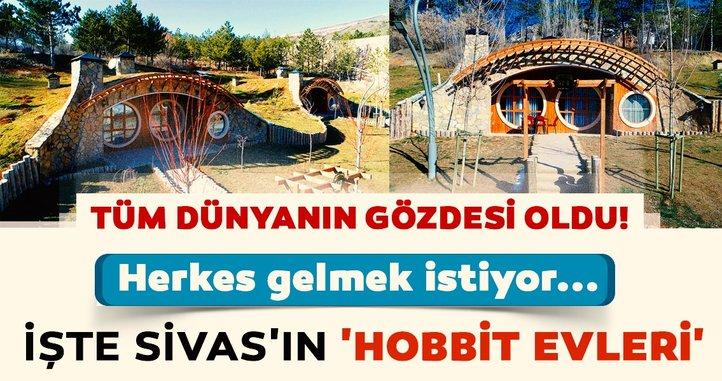'Hobbit Köyü' Sivas'ta hizmete açıldı