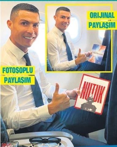Ünlü futbolcu Cristiano Ronaldo'nun fotoğrafına fotoşop yaptılar! İBB'ye sosyal medyadan tepki yağdı! Hizmet yok goygoy çok