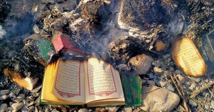 Kur'an-ı Kerim'e çirkin saldırı