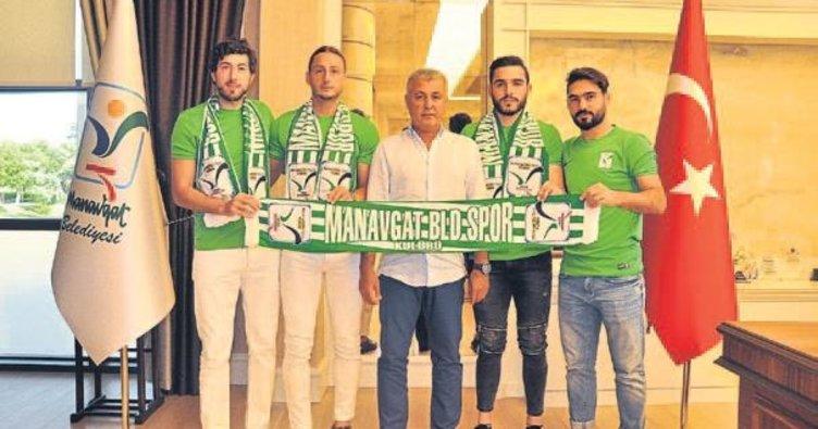Manavgat Belediyespor'dan 9 transfer