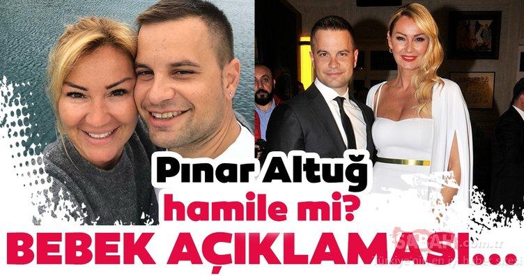 Pınar Altuğ hamile mi? Pınar Altuğ'dan bebek açıklaması...