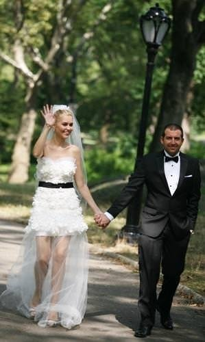 Didem Uzel evlendi