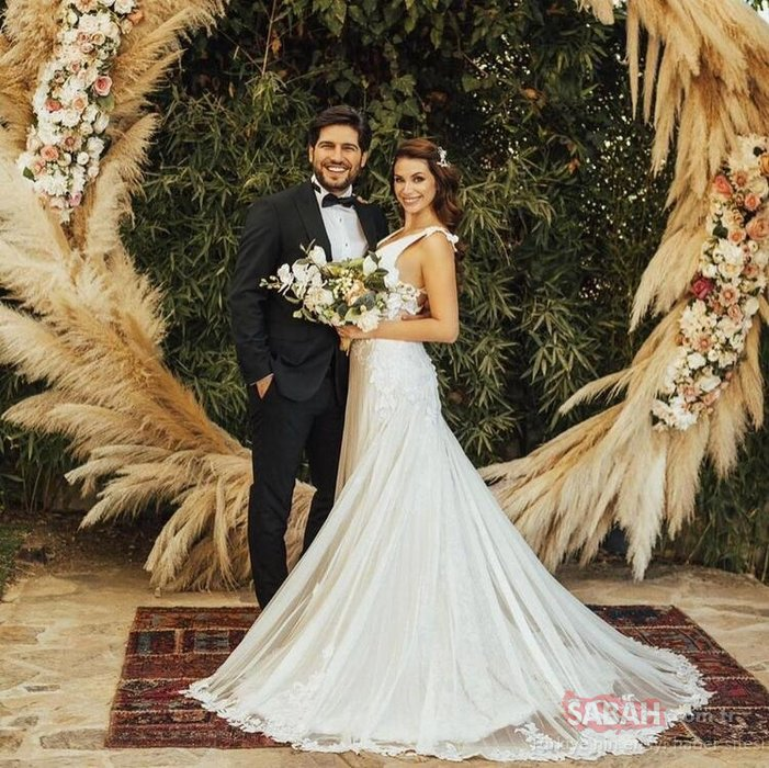 Güzel oyuncu Begüm Birgören evlendi! İşte Begüm Birgören ve eşi Mehmet Cemil'in beğeni toplayan düğün fotoğrafları...