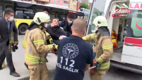 İstanbul'da İETT otobüsü sulama aracına çarptı: 7 yaralı | Video