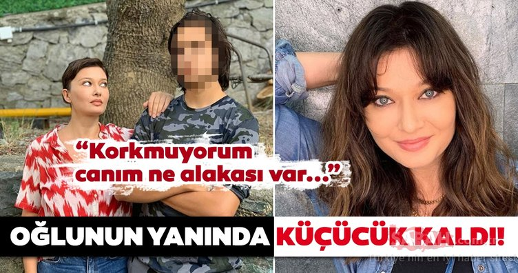 Nurgül Yeşilçay'ın oğlu Osman Nejat Özer değişimi ile şaşırttı... Nurgül Yeşilçay oğlu için öyle bir şey söyledi ki...