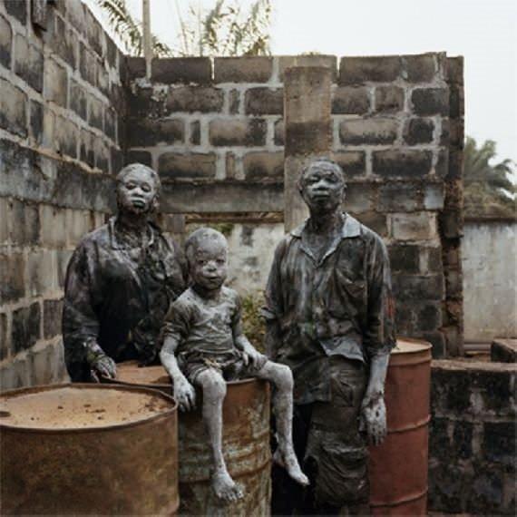 Nollywood'tan şaşırtıcı film makyajları