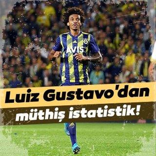Fenerbahçe'de Luiz Gustavo'dan müthiş istatistik