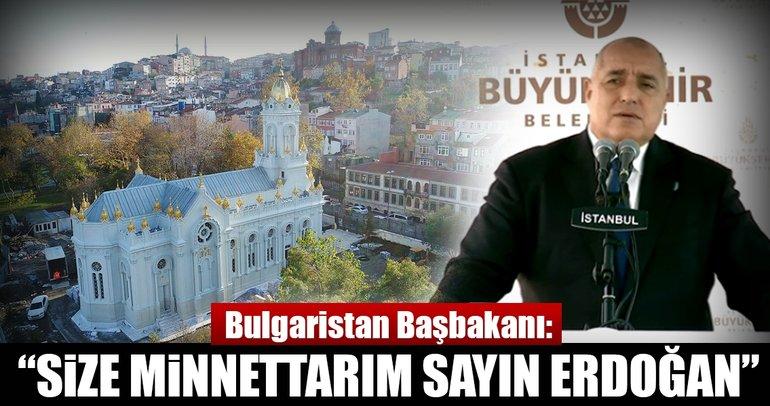 Bulgaristan Başbakanı Borisov'dan 'Demir Kilise' teşekkürü: Erdoğan'a minnettarım