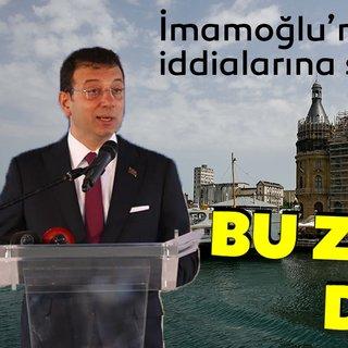 Bakan Cahit Turhan'dan Ekrem İmamoğlu'nun iddialarına yanıt