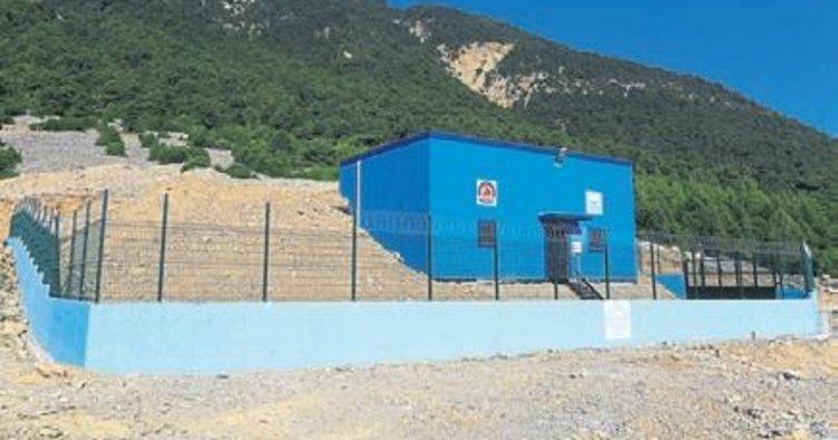 DESKİ'den Denizli'ye 76 içme suyu deposu