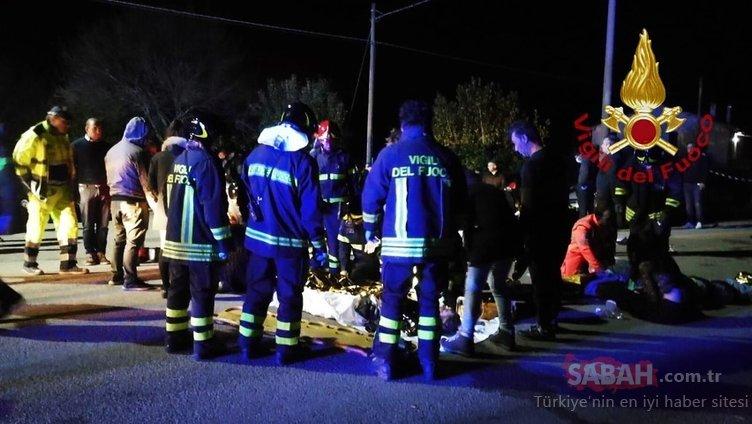 Son Dakika: İtalya'da korkunç olay! Gece kulübünde izdiham yaşandı