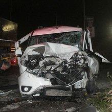 Maçtan dönen gençler kaza yaptı: 12 yaralı