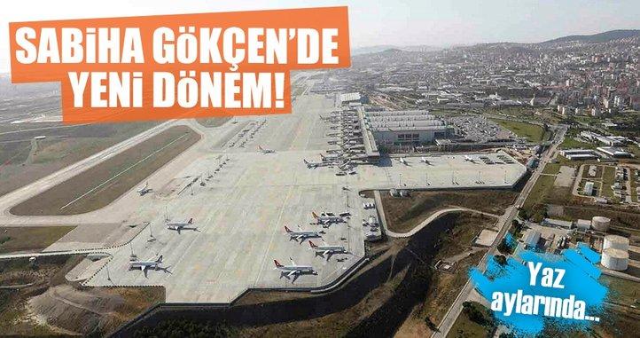 Sabiha Gökçen Havalimanı'ndan uzun uçuş müjdesi