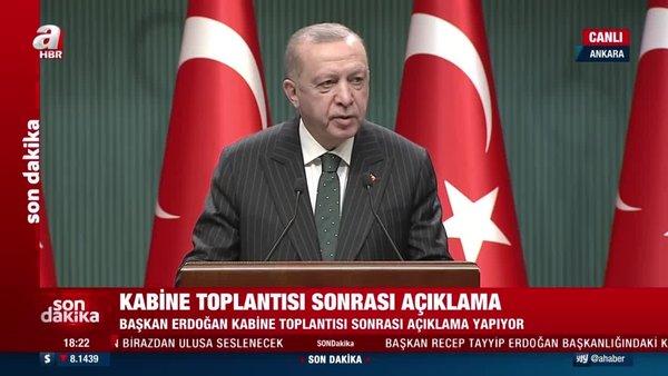 Başkan Erdoğan'dan son dakika Ramazan yasakları açıklaması! | Video
