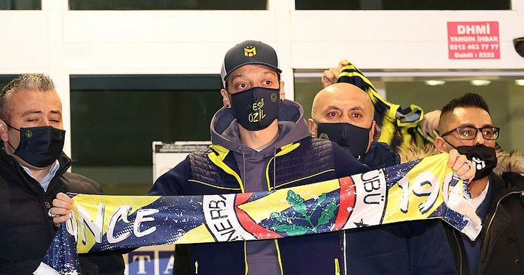 Son dakika haberi: İşte Fenerbahçe için İstanbul'a gelen Mesut Özil'in ilk sözleri! Benim için bir rüya