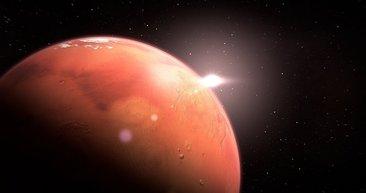 Bilim insanlarını şoke etti! Mars'ta yaşam olabilir!