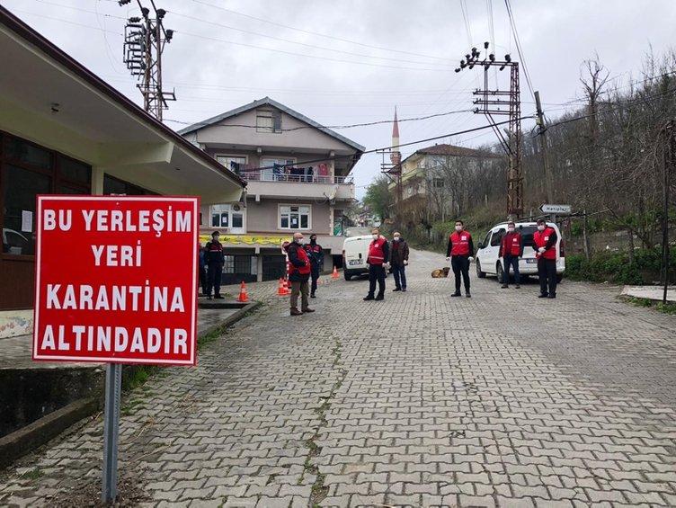 İşte Türkiye'de karantinaya alınan yerler