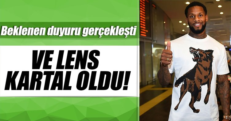 Son dakika: Lens, Beşiktaş'ta!