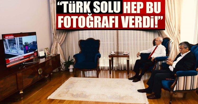 Türk solu hep bu fotoğrafı verdi