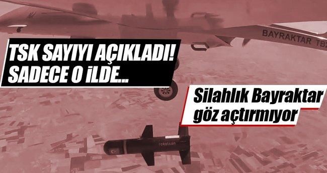 TSK açıkladı: Öldürülen terörist sayısı...