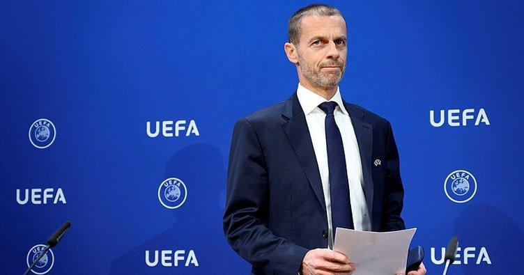 UEFA Başkanı Alexander Ceferin: Sezonu tamamlayamayan ülkeler...