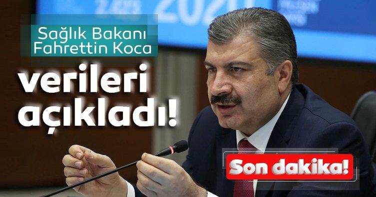 Son dakika haberi: Bakan Koca 1 Kasım koronavirüs hasta ve vefat sayılarını açıkladı! Türkiye'de koronavirüs son durum tablosu