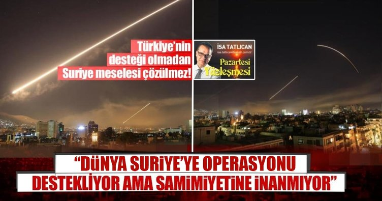 Suriye krizinde kilit ülke Türkiye