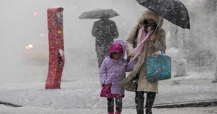 Kar fırtınası ABD'yi vurdu