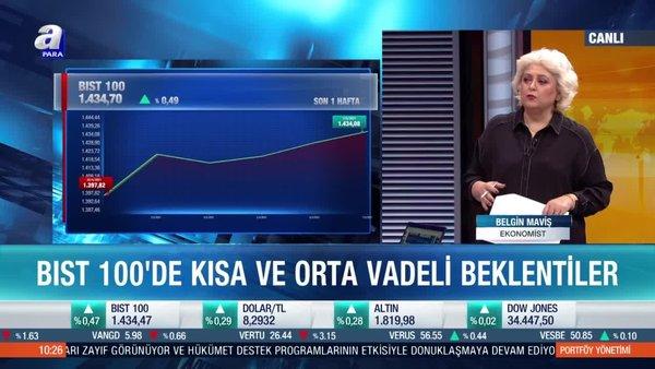 Ekonomist Belgin Maviş: Dövizdeki geri çekilme Borsa İstanbul'a güç verdi