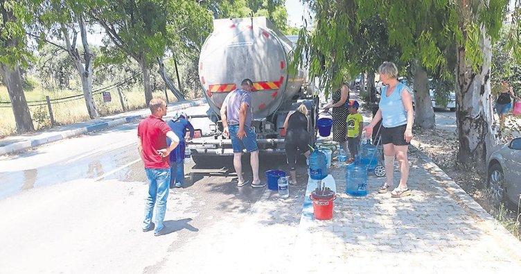 Foça susuz kaldı halk perişan oldu - Egeli Sabah Haberleri