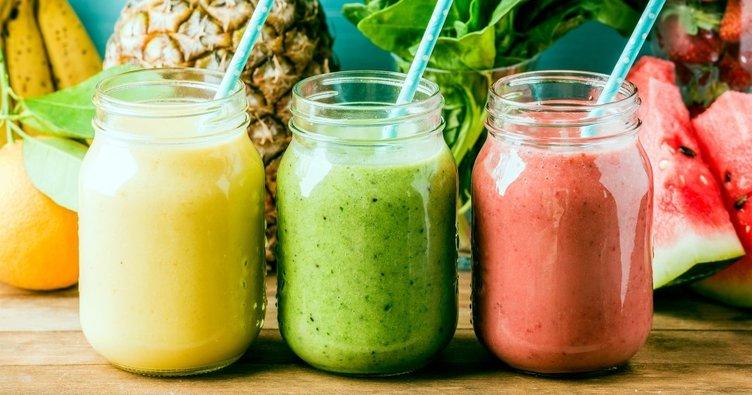 Birbirinden lezzetli ve sağlıklı smoothie tarifleri: Muzlu, yeşil elmalı, karpuzlu smoothie nasıl yapılır?