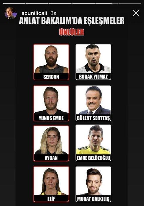 SON DAKİKA: Survivor 2020 Anlat Bakalım yarışmasında Hadise, Emre Belözoğlu ve Burak Yılmaz sürprizi! Cedi Osman ve birçok ünlü isim de...