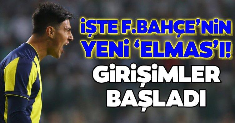 İşte Fenerbahçe'nin yeni Eljif 'Elmas'ı! Girişimler başladı