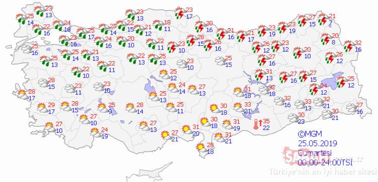 Meteoroloji'den Ä°stanbul için son dakika hava durumu ve yağış uyarısı! Ä°stanbul´da yağışlar devam edecek!