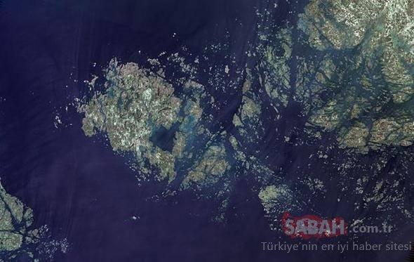 Uzaydan çekilen inanılmaz görüntüler!