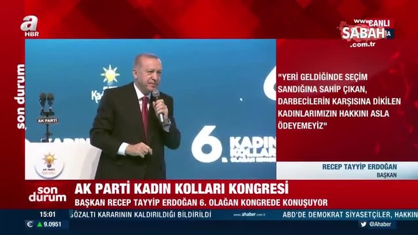 Başkan Erdoğan: Üniversitelere girişi engellenen hanım kardeşlerimiz, söke söke bu üniversiteleri bitirdiler | Video