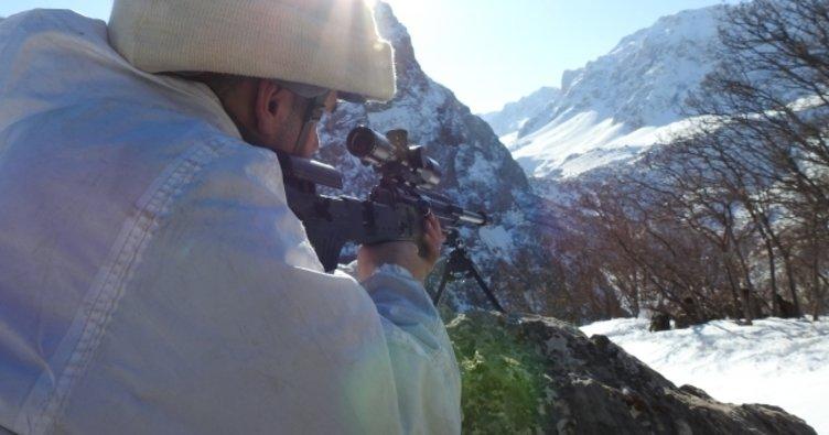 Munzur dağlarında PKK operasyonu
