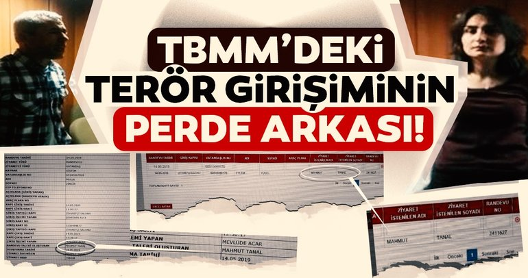 CHP'li Mahmut Tanal 2 DHKP-C'li teröristin Meclis'e girişine izin vermiş
