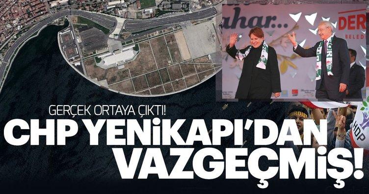 CHP'nin Başvurduğu Yenikapı'dan vazgeçtiği ortaya çıktı! İşte nedeni...
