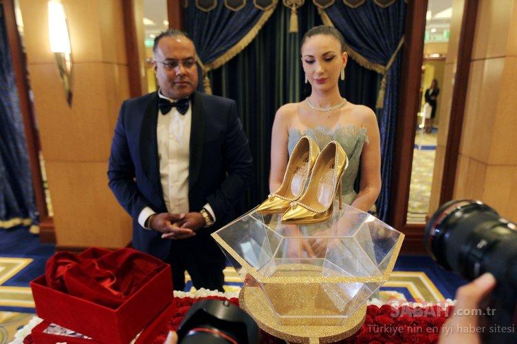 Dünyanın en pahalı ayakkabısı...