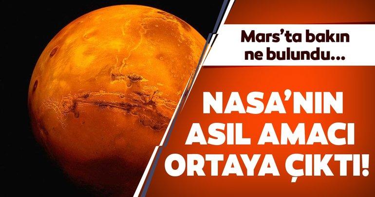 NASA'nın keşif aracı Mars'ta gemi buldu iddiası ortalığı karıştırdı! NASA gerçekleri gizliyor mu?