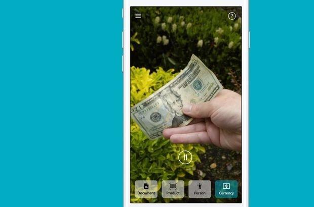 Akıllı telefonla gören yapay zekâ uygulaması geliştirdi