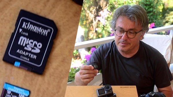Hafızanız yetmiyor mu? İşte yeni 'Kingston Micro SD' hafıza kartı...   Video