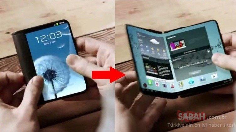 Samsung'un katlanabilir telefonu bu tarihte çıkacak!