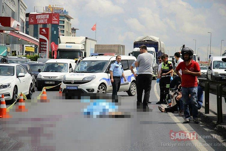 Motosiklet sürücüsü trafik kazasında hayatını kaybetti