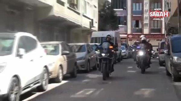 İstanbul Sultangazi'de polis ekiplerinden vatandaşlara gözleri yaşartan sürpriz   Video